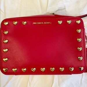 Brand NEW!!! Michael Kors pink crossbody bag